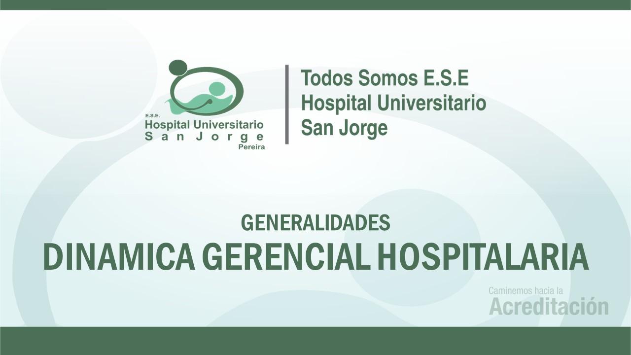 Generalidades de Sistema de Información DGH